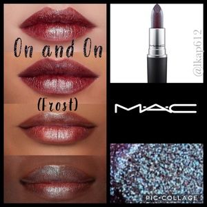 MAC Frost Lipstick- On and On